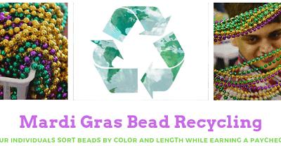 STARC Mardi Gras Bead Recycling