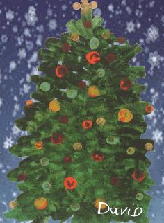 Christmas Tree 18 David
