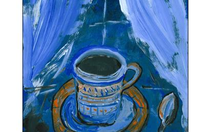 Evening Coffee Laura